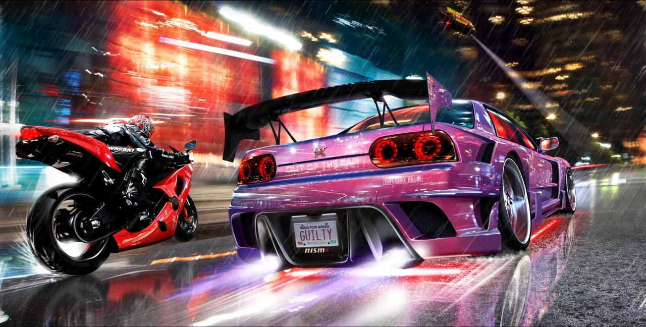 Need For Speed Out Of The Law Concept Art Nfs Underground Is