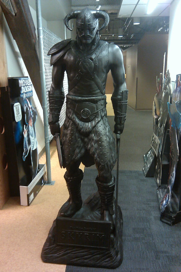 Amazon Receives Ultimate Skyrim Collector's Item, But You