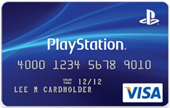 sony announces the playstation credit card