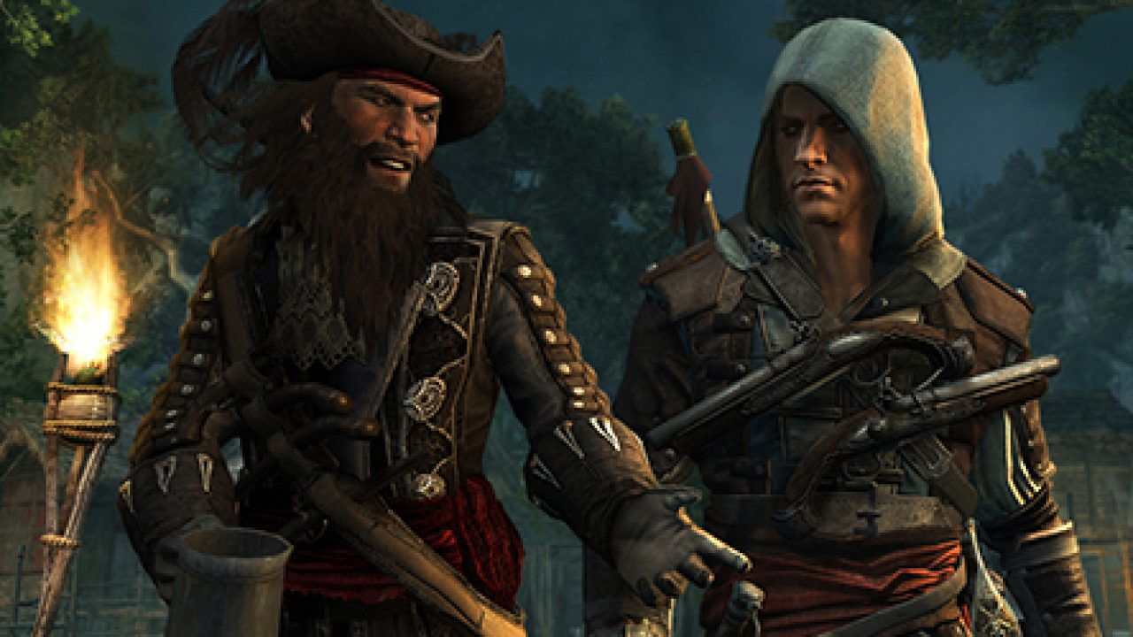 Assassin S Creed Iv Black Flag On Ps4 Gets 2 3gb Patch 1 04