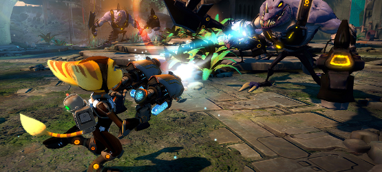 Ratchet-and-Clank-Into-the-Nexus-Preview-Blaster