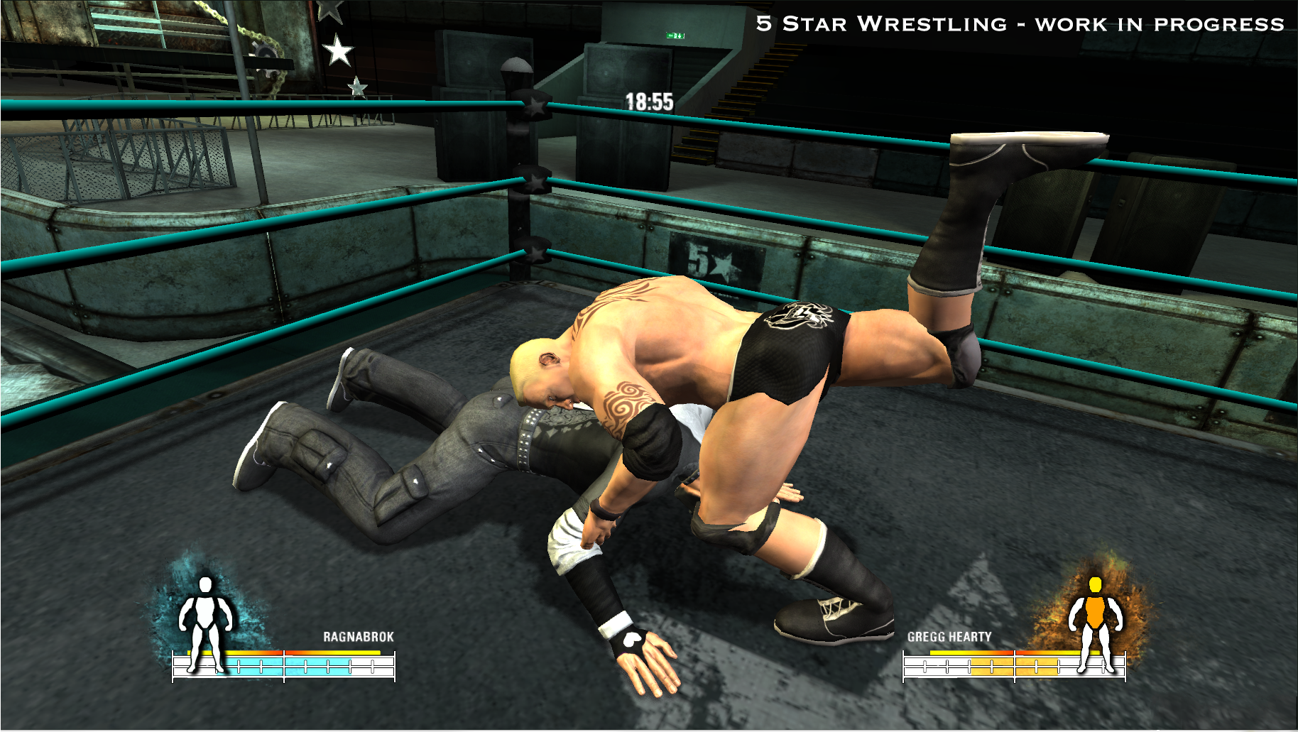 5 star wrestling for ps3 almost complete new screenshots released