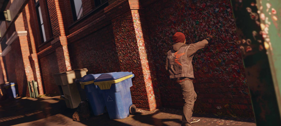 inFamous SS - Gum Wall