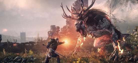 thewitcher3monsterfight1