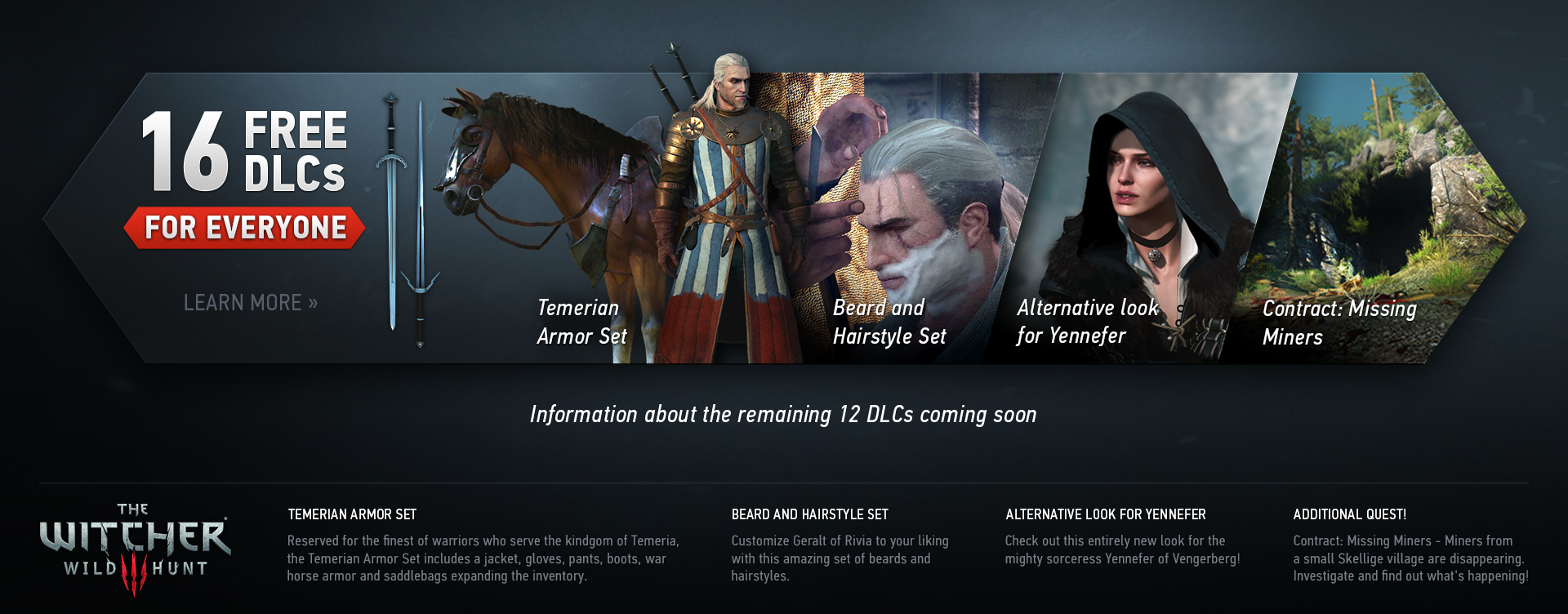 The Witcher 3 Dlc