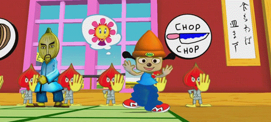 Inventing an Icon - PaRappa the Rapper