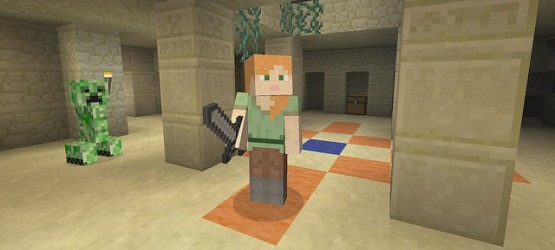 Minecraft Update Today On PS PS PS Vita Adds Alex Skin Changes - Skins para minecraft ps3 gratis