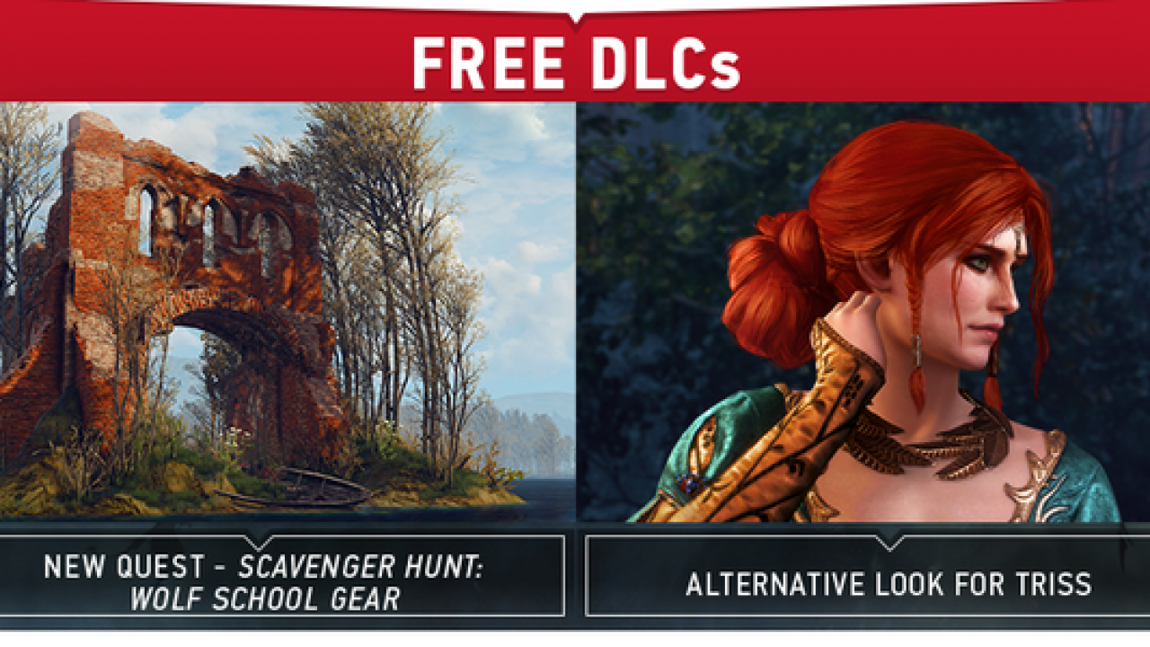 Week 5 Of The Witcher 3 Dlc Includes New Quest Alternative Look For Triss