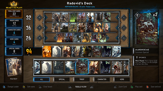 Gwent The Witcher Card Game Preview 1