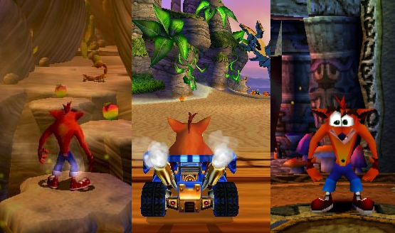 ranking crash bandicoot games the best and the worst