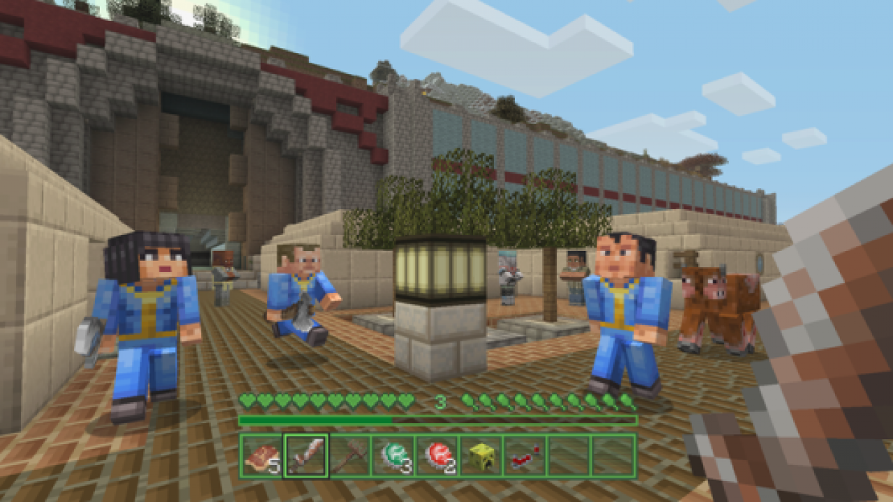 Minecraft Fallout Pack Coming Soon to PS4, PS3 & PS Vita