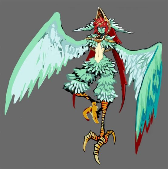 bloodstained harpy