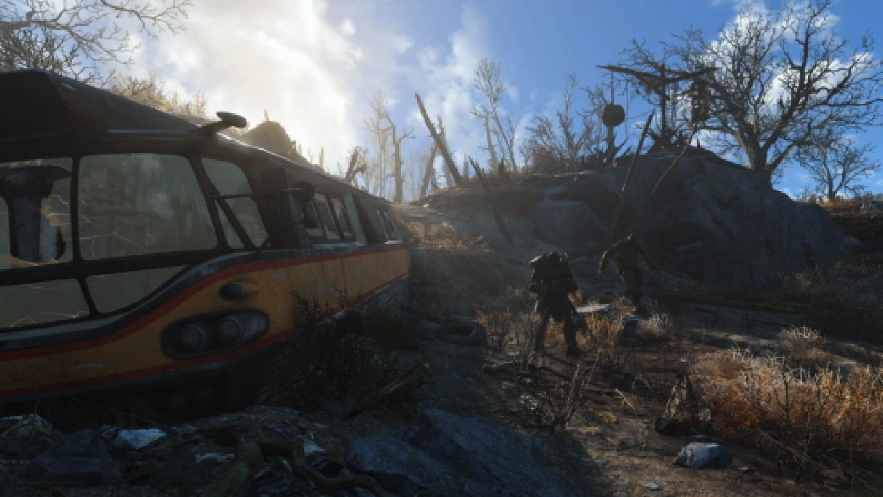 Fallout 4 Update 1 14 Today on PS4 Adds PS4 Pro Support