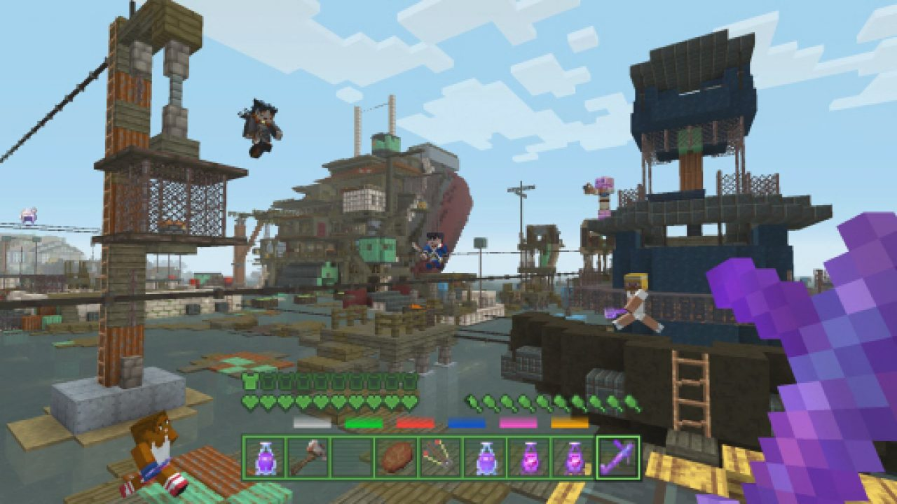 Minecraft Update 1 42 Today on PS4, PS3 & Vita Detailed