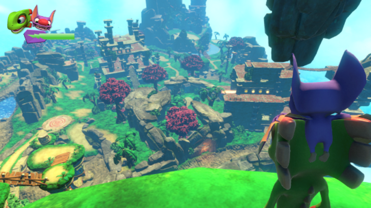 Yooka Laylee Review - Blast From the Past | PSLS