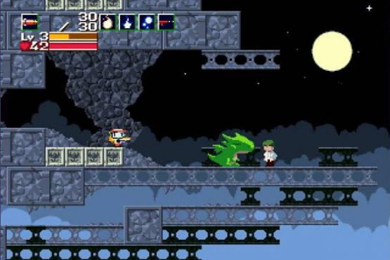 Pictured: Cave Story