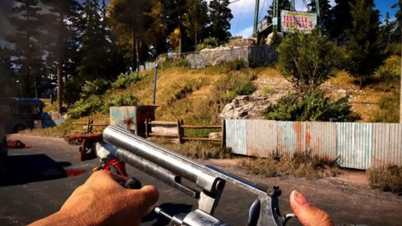 Far Cry 5 Drugs Allow Players To Boost Skills