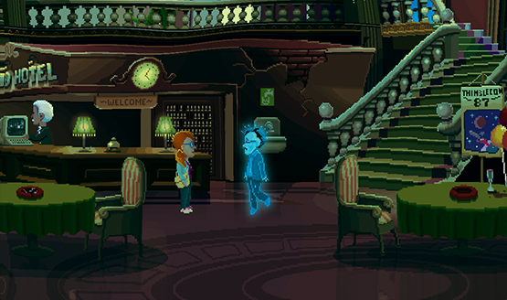 Thimbleweed Park ps4 review 2