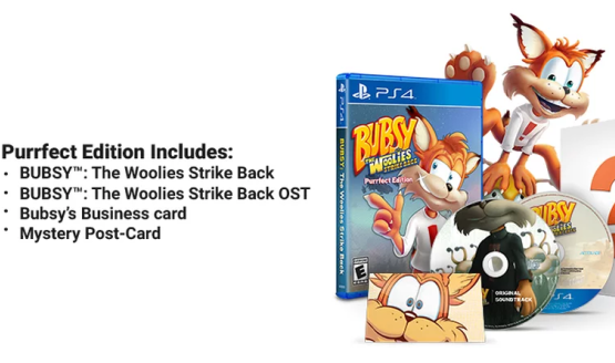 Bubsy PS4 Game