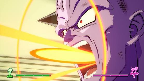 Screens Show Dragon Ball FighterZ Ginyu Gameplay