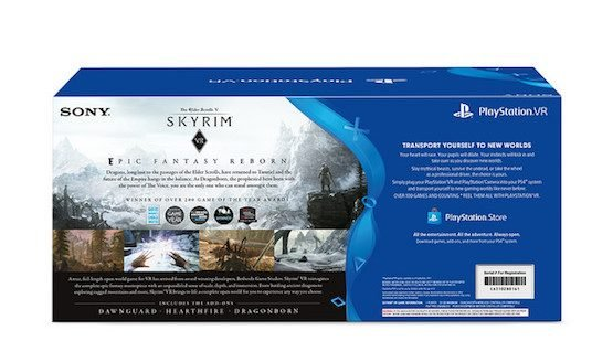 skyrim psvr bundle