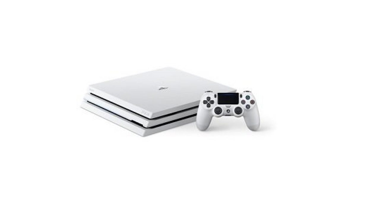 Retailer Lists Standalone White PS4 Pro