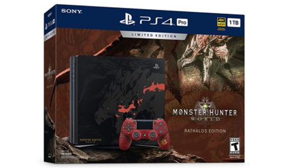 Limited Edition Monster Hunter World Ps4 Pro Coming Na