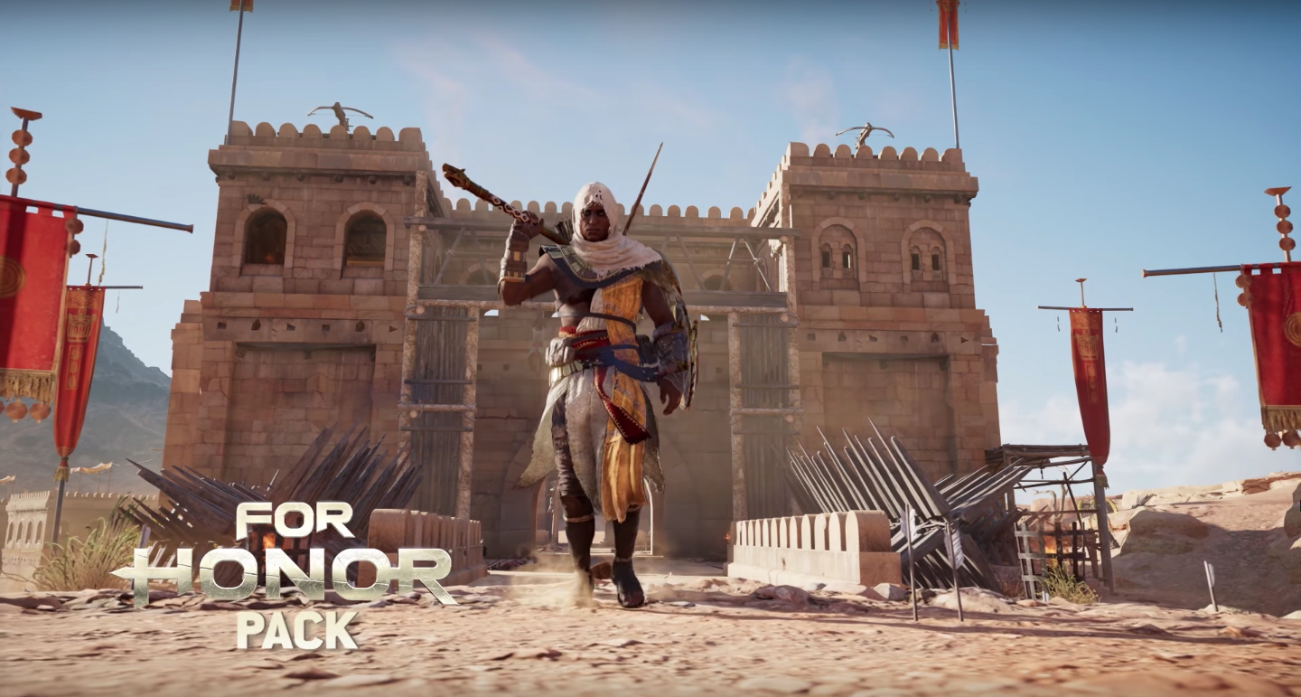 New Assassins Creed Origins For Honor DLC Out Now