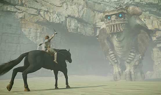 Shadow Of The Colossus Dynamic PS4 Theme