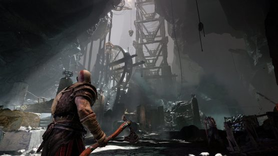 God of War text size patch