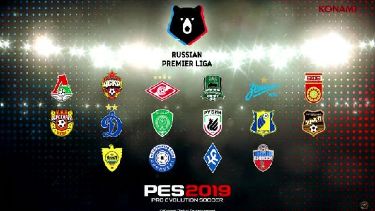 New Pro Evolution Soccer 2019 Trailer Shows Off Russian