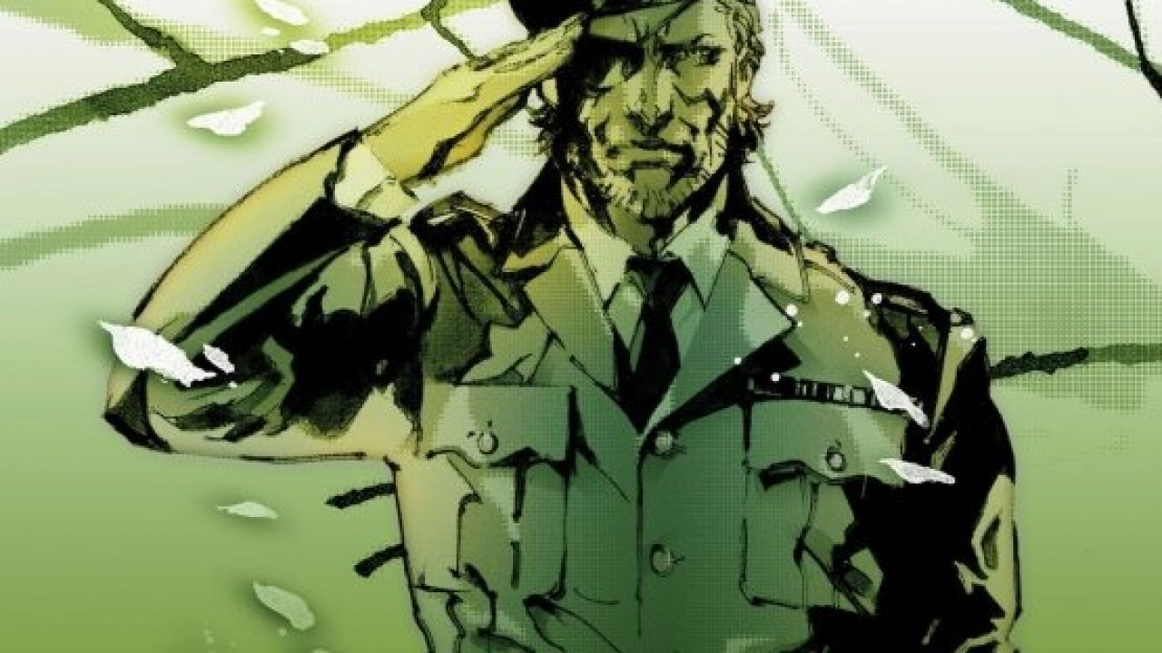 Dark Horse S Metal Gear Solid Art Book Is Now Available