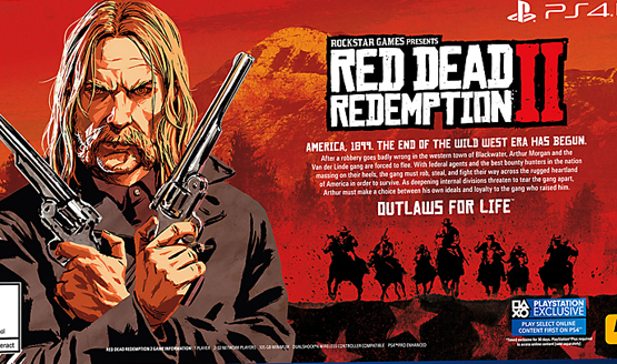 Red Dead Redemption 2 File Size Will Be Over 100 GB