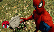 Spider-man PS4 Uncle Bens grave ben parker with great power trophy