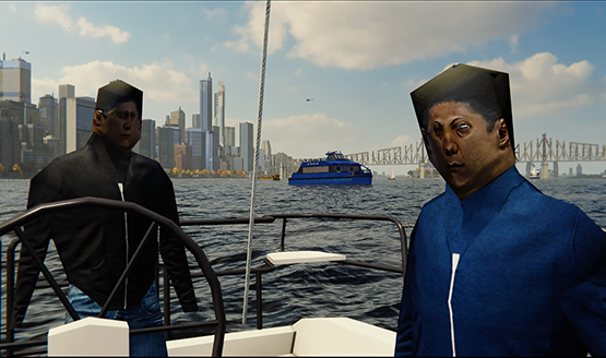 Spider-man PS4 boat people 1