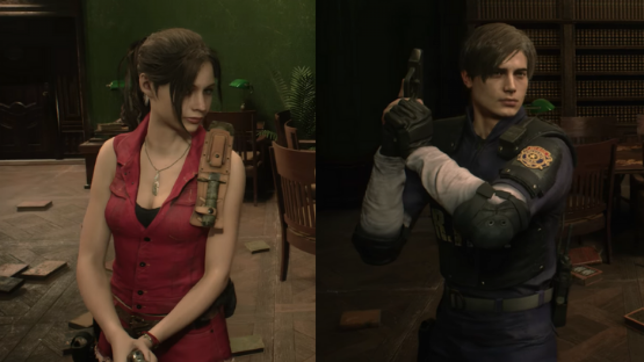 Original Costumes.Resident Evil 2 Costumes Will Include Original Outfits As