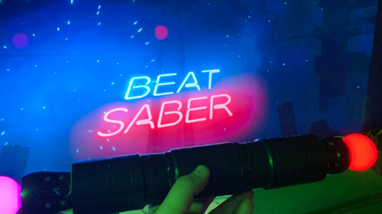 Beat Saber PS Move Controller Mod Inspired by Darth Maul