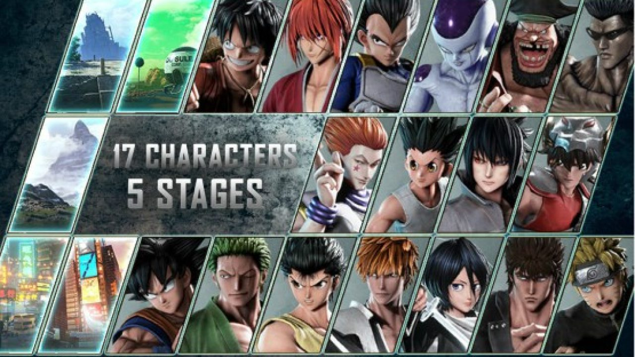 Jump Force Beta Will Let You Play 17 Characters Across 5 Stages