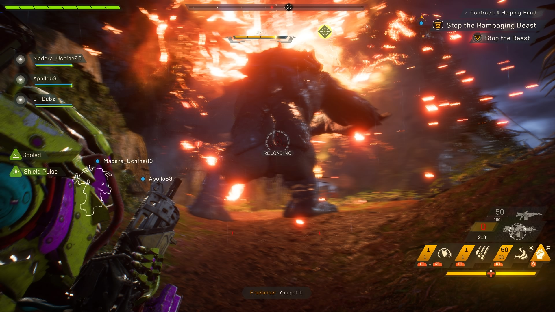 Anthem Ps4 Review Head In The Clouds Ps4