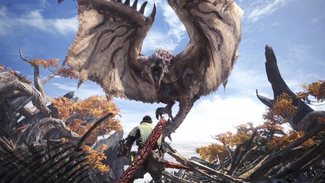 Monster Hunter World Tops List of Best-Selling PS4 Games in