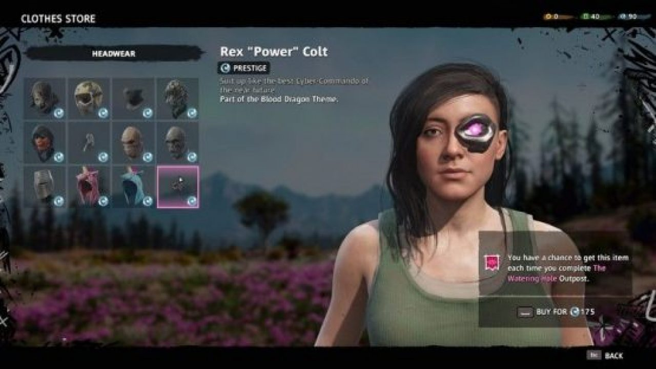 How To Acquire The Far Cry Blood Dragon Outfit In New Dawn