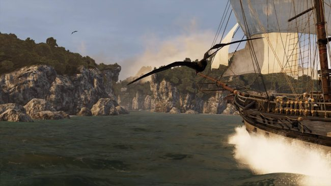 Naval combat was introduced in Assassin's Creed III.