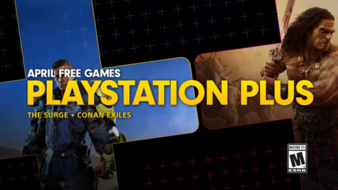 PlayStation Plus April 2019 Free Games Announced