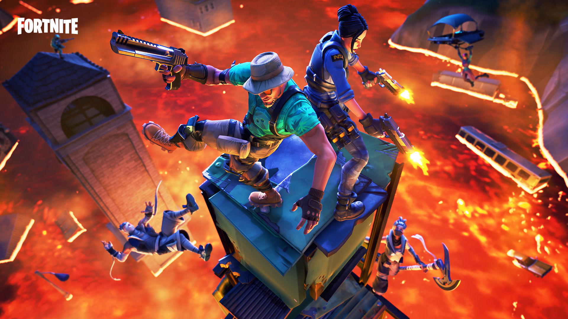 Fortnite's 8.20 Update Adds Limited-Time Mode, and Foraged Items