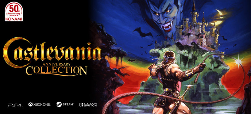 castlevania anniversary collection games