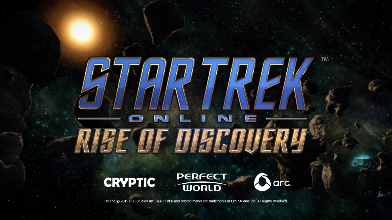 Star Trek Online Rise of Discovery Announced