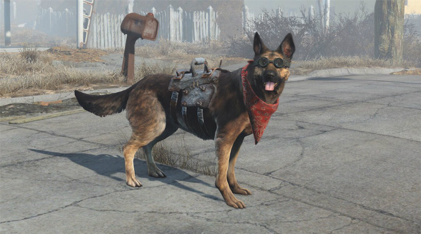 best playstation dogs dogmeat
