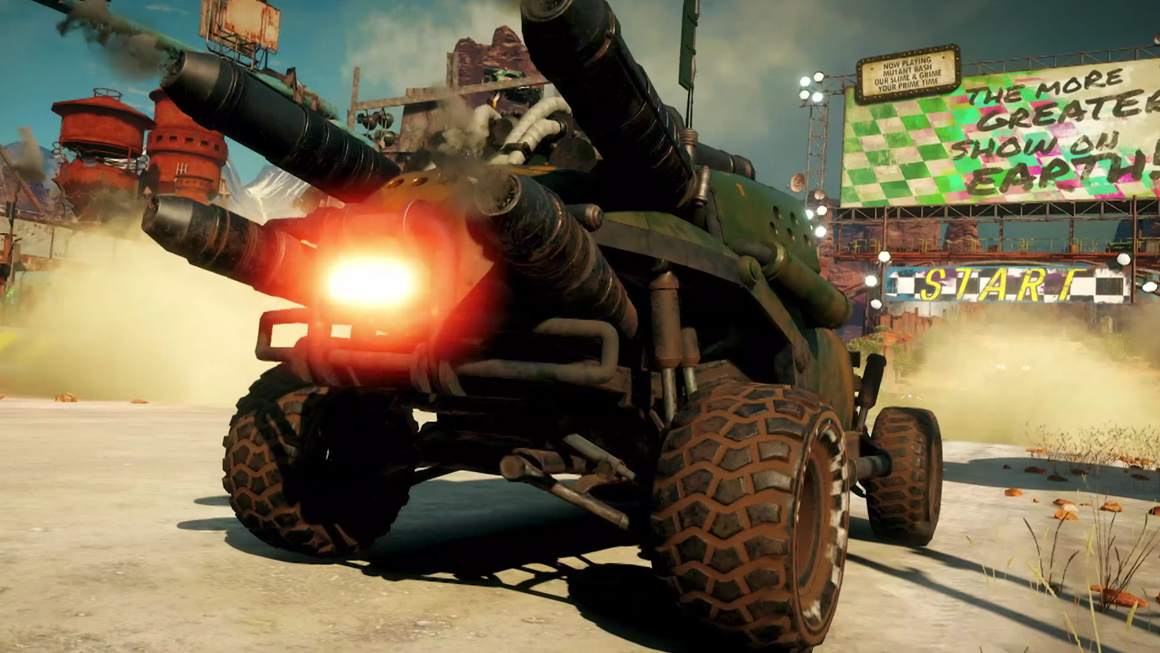 RAGE 2 How to Upgrade Your Vehicle