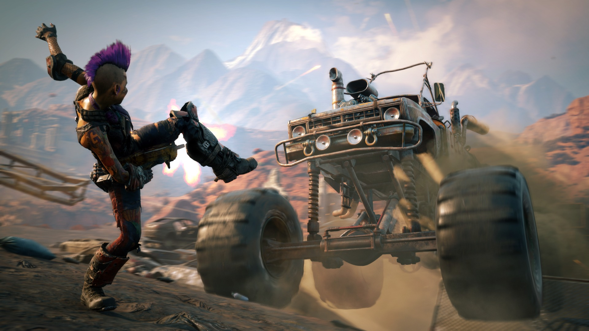 RAGE 2 How to Repair Your Vehicle