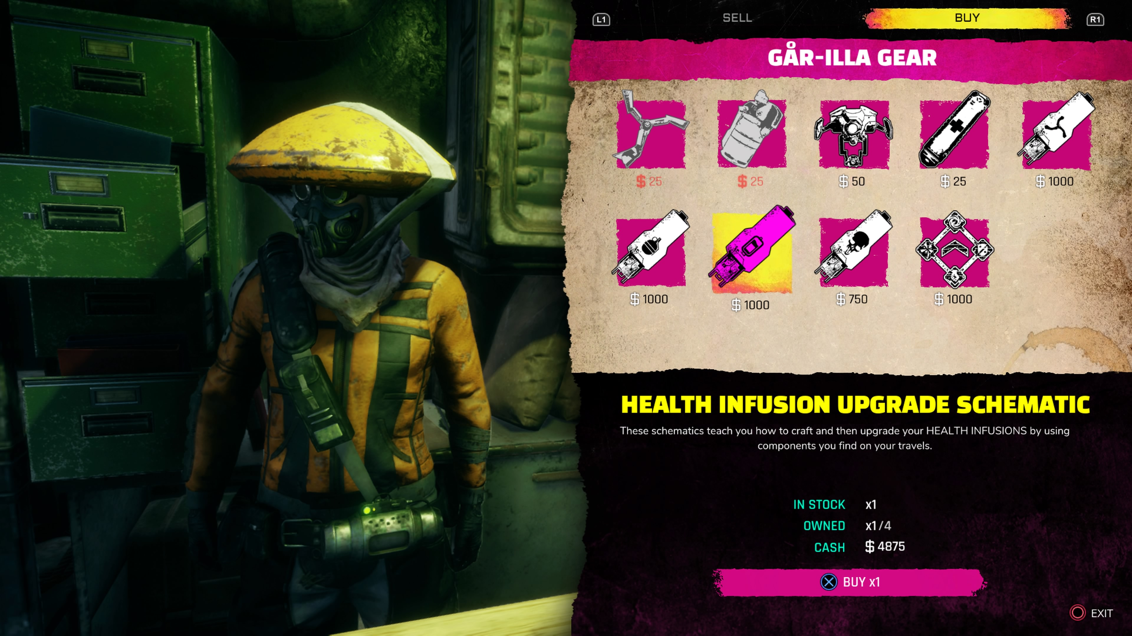 RAGE 2 How to Upgrade Healing Items